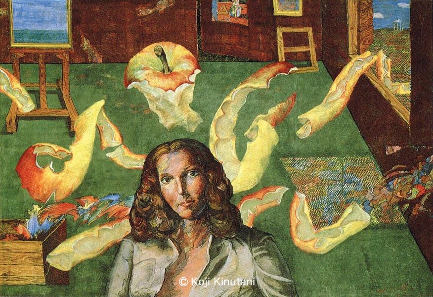 ダリア・ガナッシィーニの肖像
